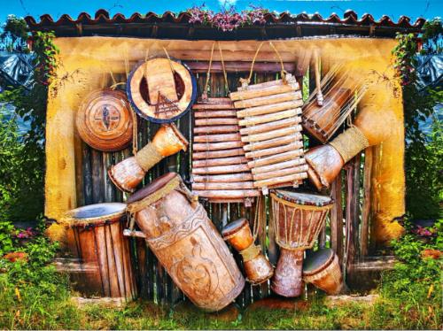 Musique des Andes 10-2020 40X30 | Téléphone 438-321-4922